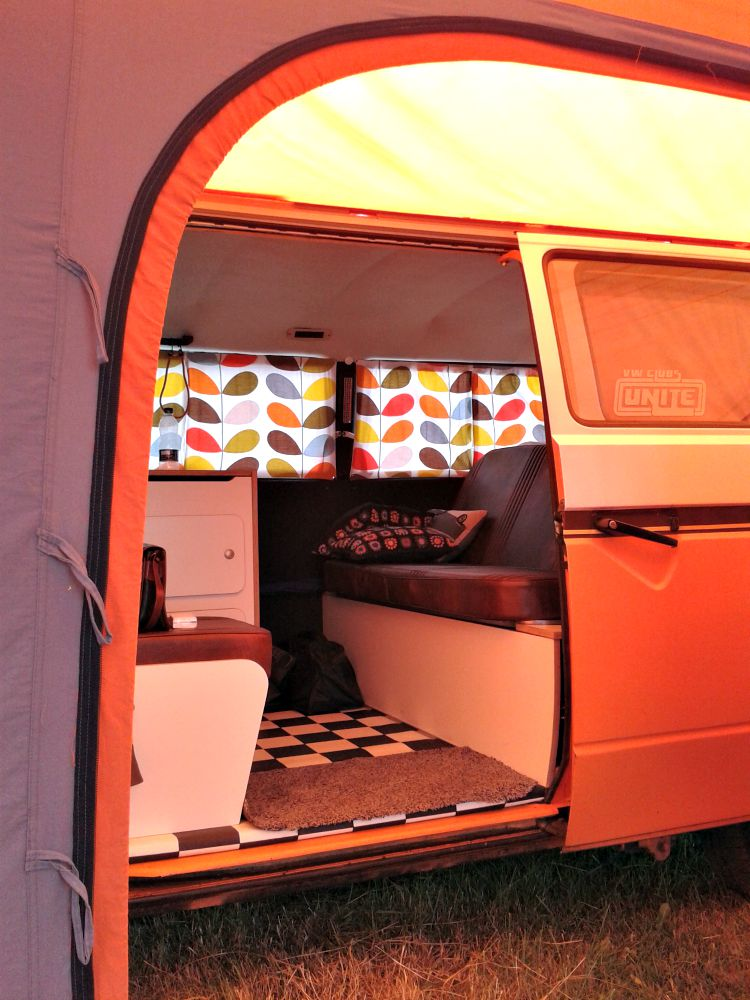 I do love camping in our van!